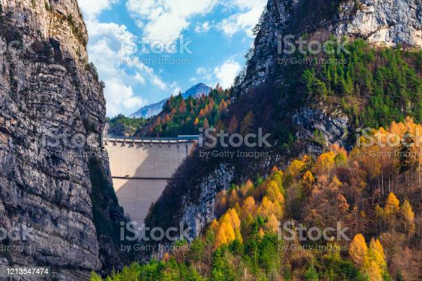Photo of Vajont Dam in Longarone (BL)