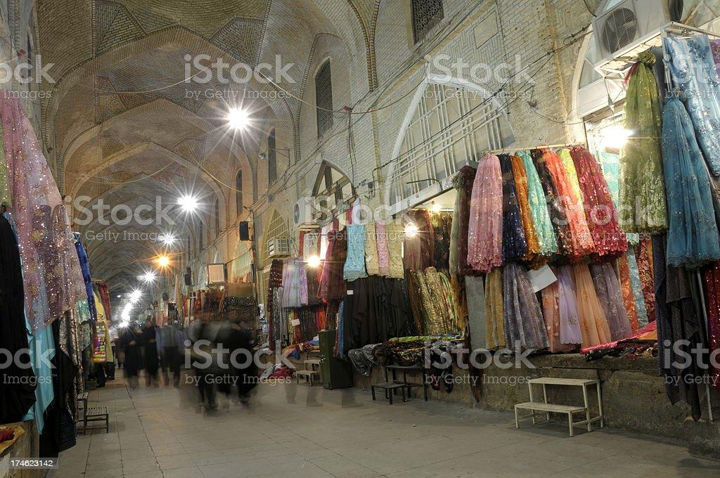 Vakil Bazaar, Shiraz, Iran stock photo