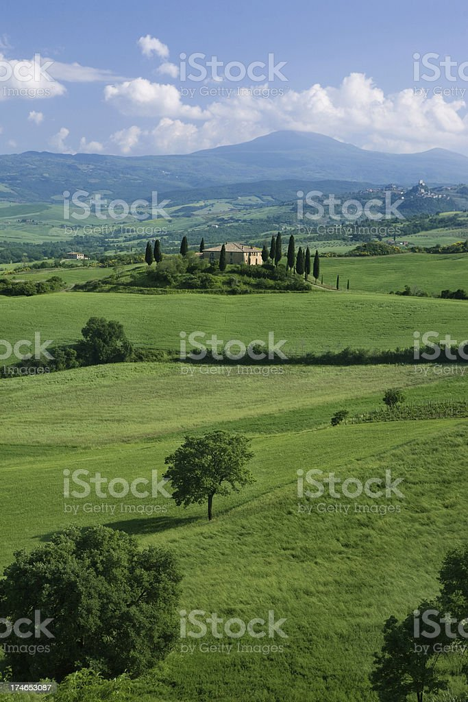 val d orcia royalty-free stock photo