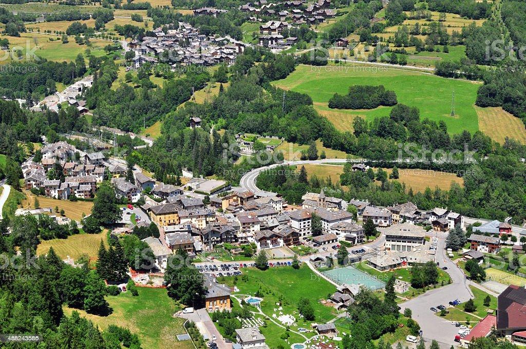 Val d'Aosta stock photo