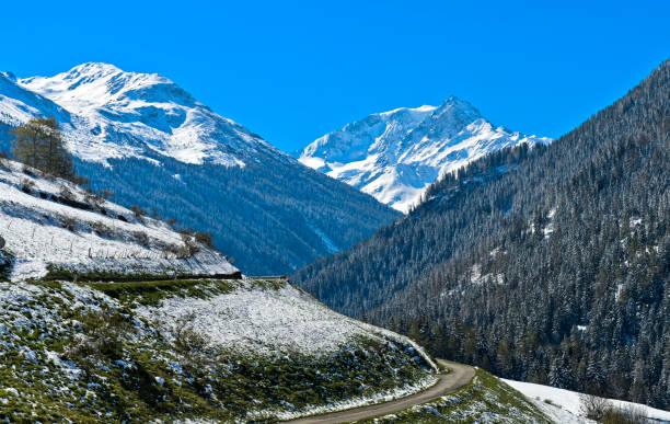 Entremont Tal Val Mont Velan hinter ihren Höhepunkt – Foto