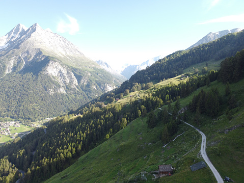 Val d'Hérens in Valais, Switzerland
