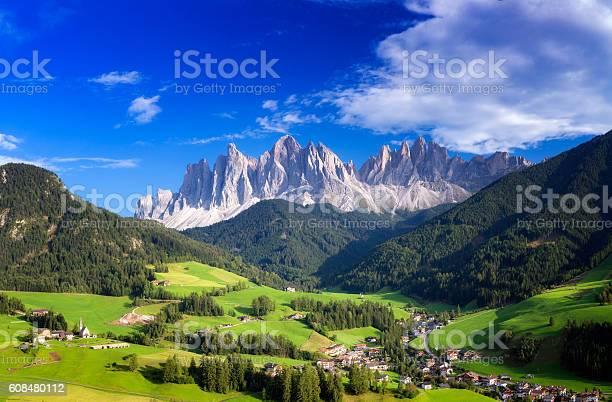 Italy, Dolomites, Val di Funes, Villnöss