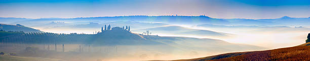 Val d'Orcia Landscape - Italy stock photo