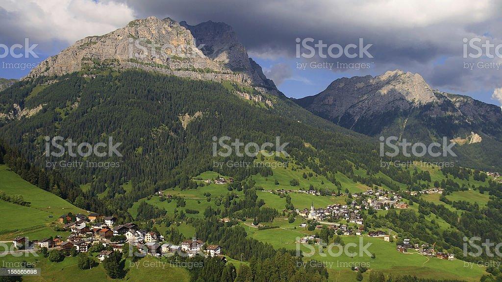Val Fiorentina - Selva di Cadore stock photo