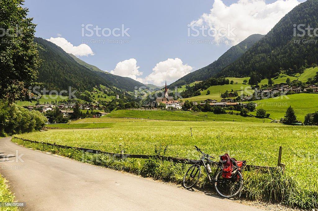 Val Passiria royalty-free stock photo