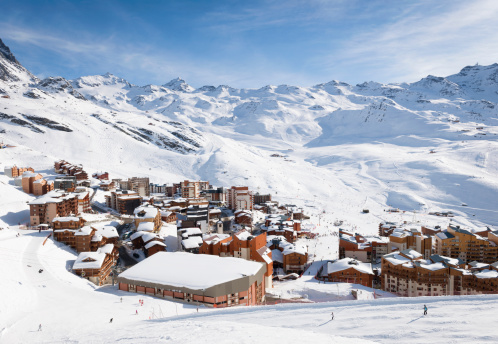 Val Thorens in the Three Valleys