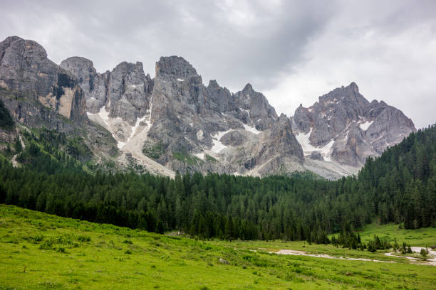 Val Venegia - Dolomites - Italy stock photo
