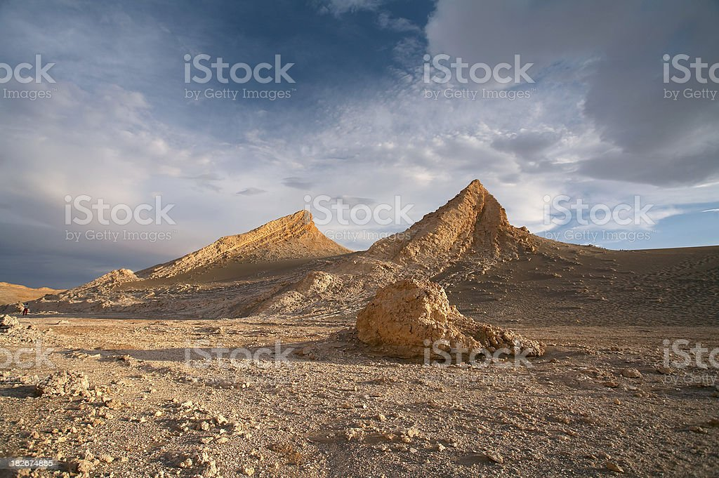 Vale de la Luna - Atacama Desert, Chile royalty-free stock photo