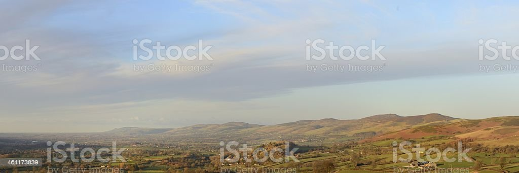 Vale of Clwyd stock photo