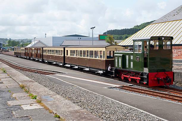 Vale of Rheidol Railway stock photo