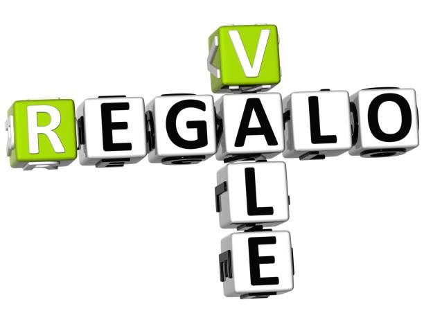 3d vale regalo kreuzworträtsel - kostenlose onlinespiele stock-fotos und bilder