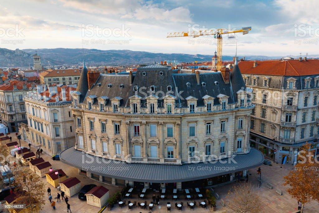 Valence é cidade histórica da França - foto de acervo