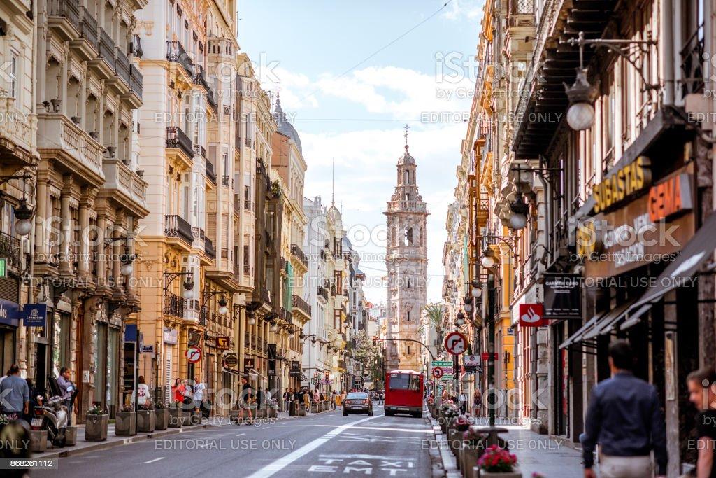 Ciudad de Valencia en España - Foto de stock de Antiguo libre de derechos