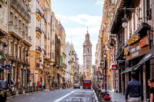 Ciudad De Valencia En España Foto de stock y más banco de imágenes de Antiguo