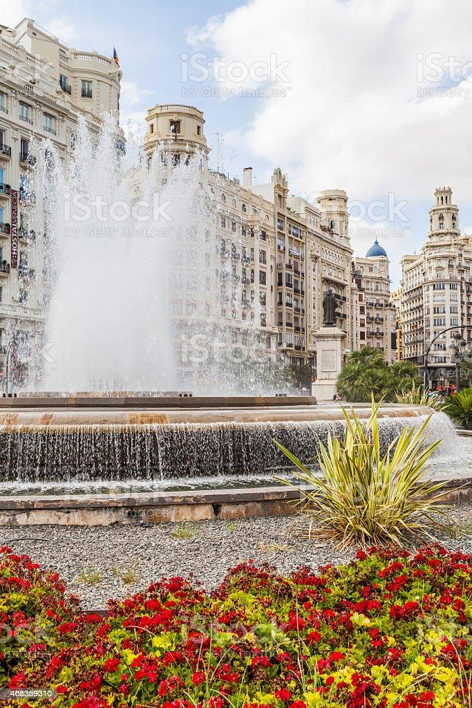 Valencia Citycenter royalty-free stock photo