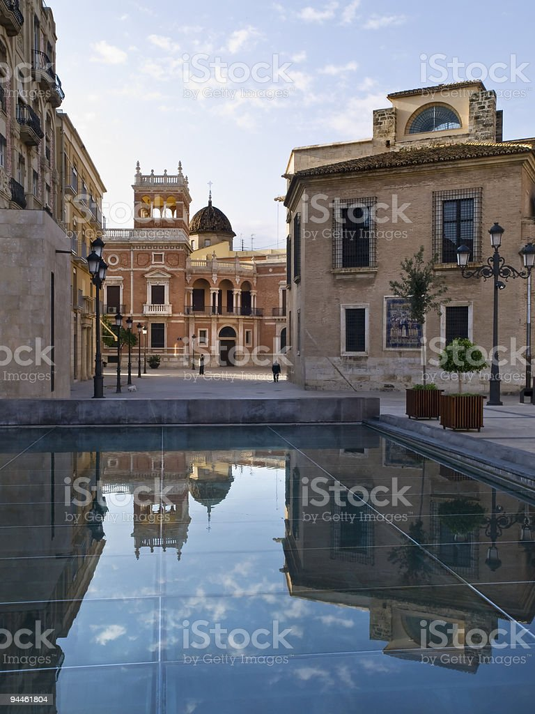 Valencia Old Town royalty-free stock photo