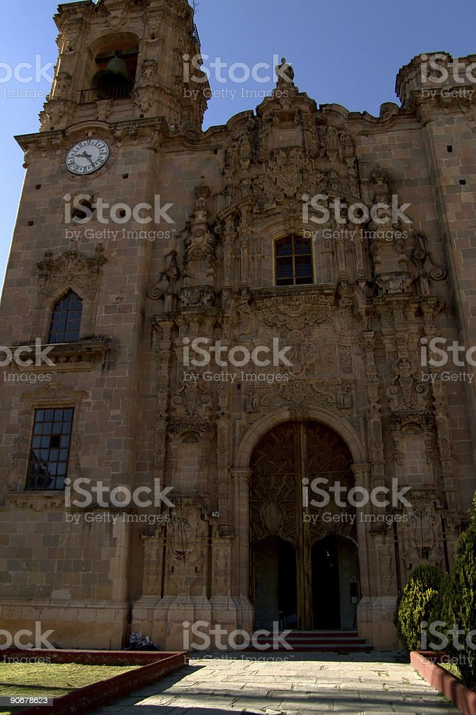 Valenciana Church stock photo