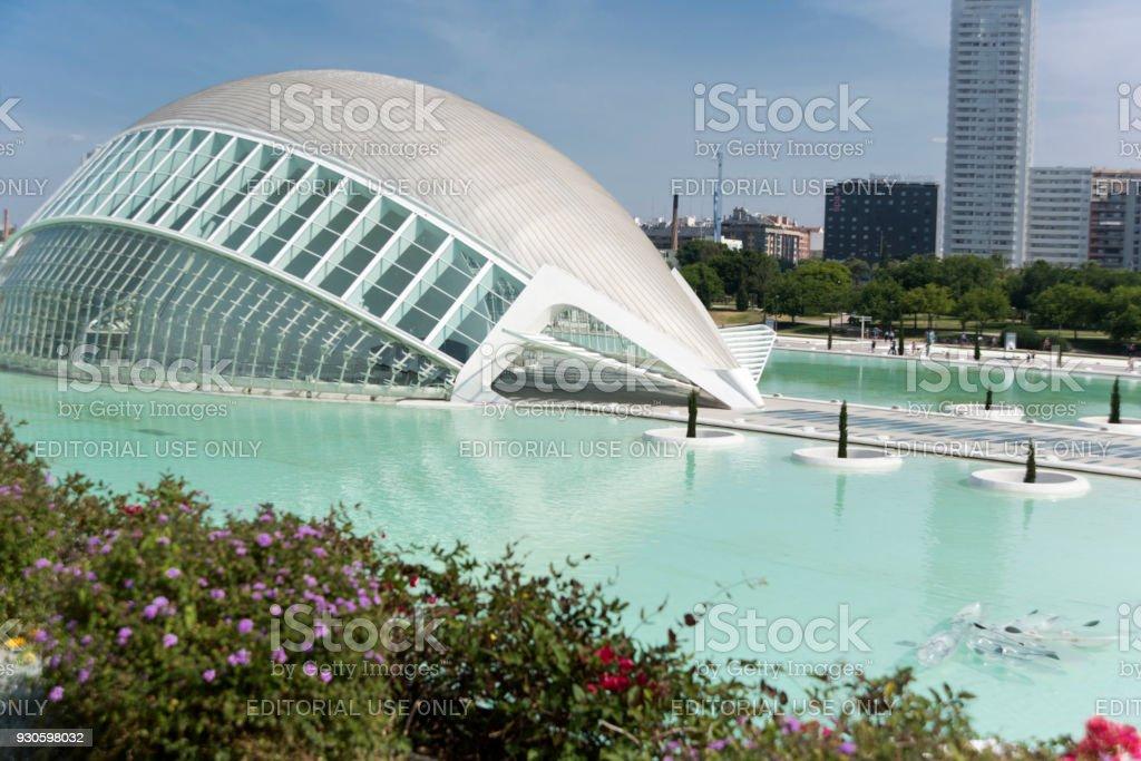 Valencias Hemispheric City Of Arts And Science Stock Photo & More ...