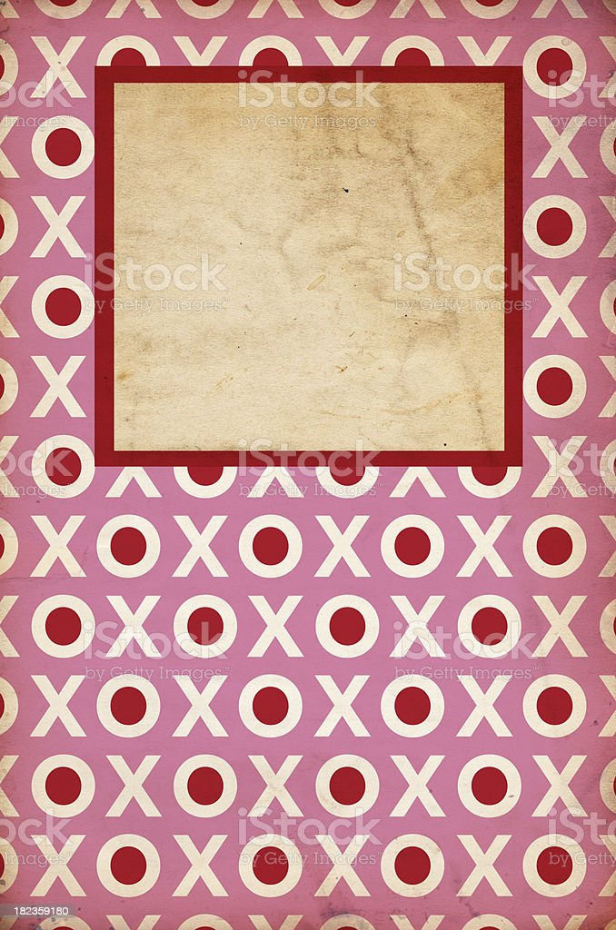 Valentine Background Paper XXXL royalty-free stock photo