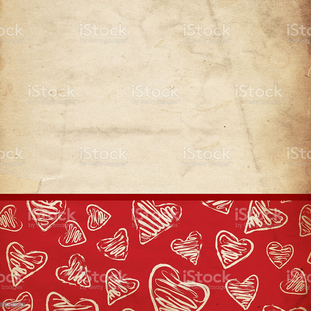 Valentine Background Paper - XXXL royalty-free stock photo