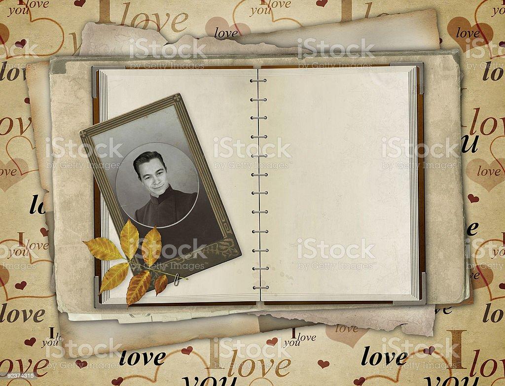 Valentine background royalty-free stock photo