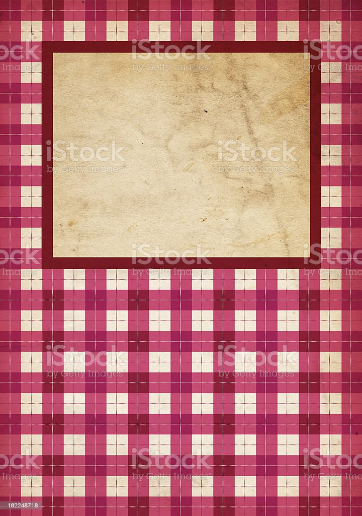 Valentine Background; XXXL Plaid royalty-free stock photo