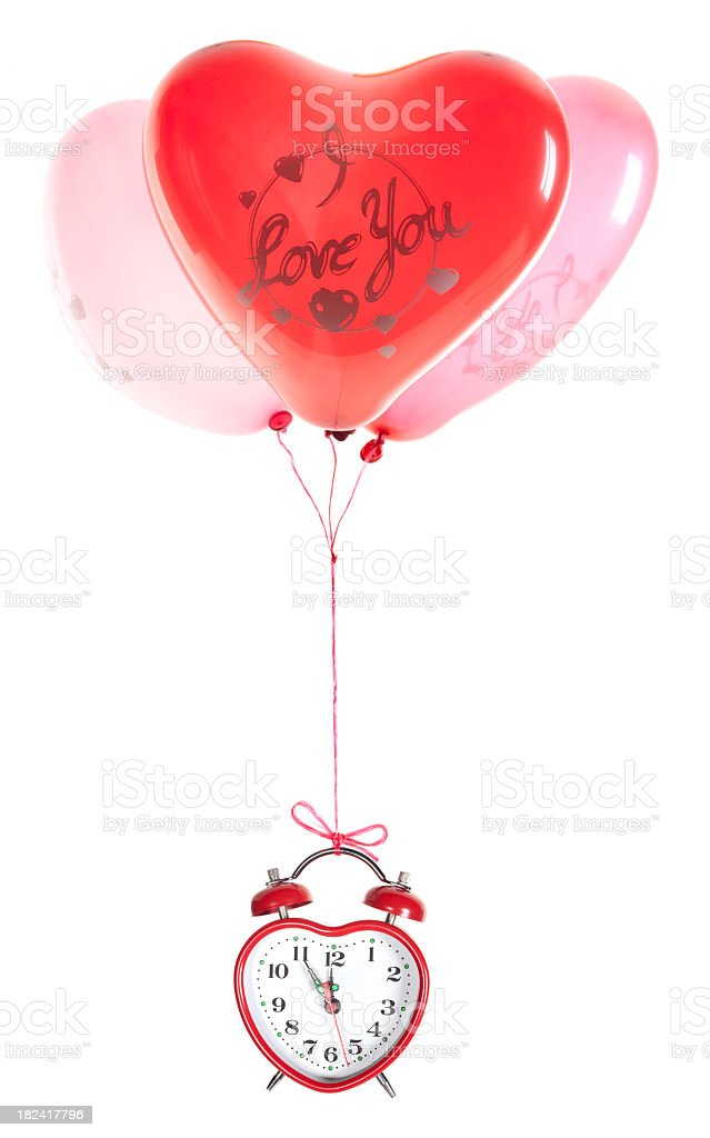 Valentine Balloons stock photo