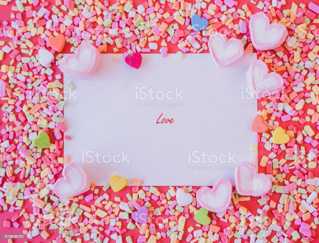 Valentine blackground - Lizenzfrei Bunt - Farbton Stock-Foto