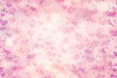 Valentine blur abstract background