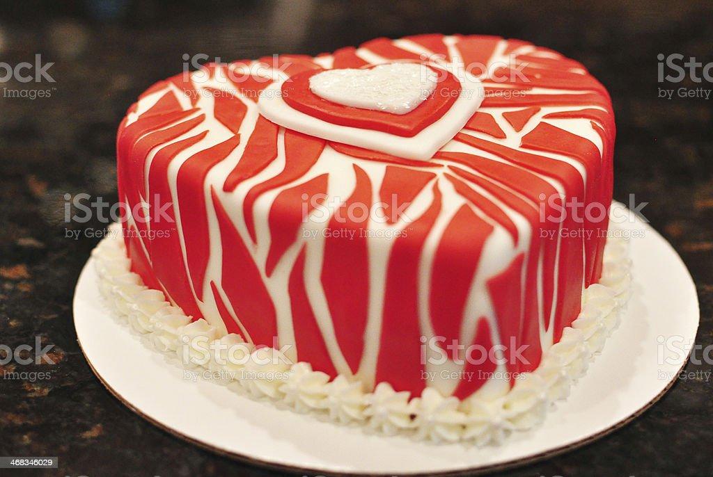 Valentine Cake royalty-free stock photo