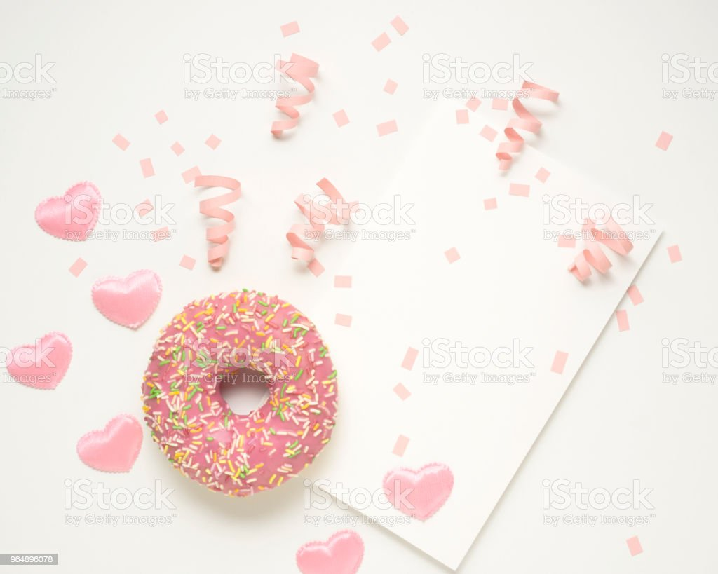 Valentine card. royalty-free stock photo