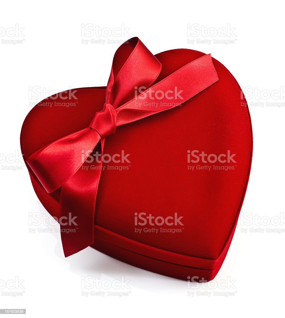Valentine chocolates royalty-free stock photo