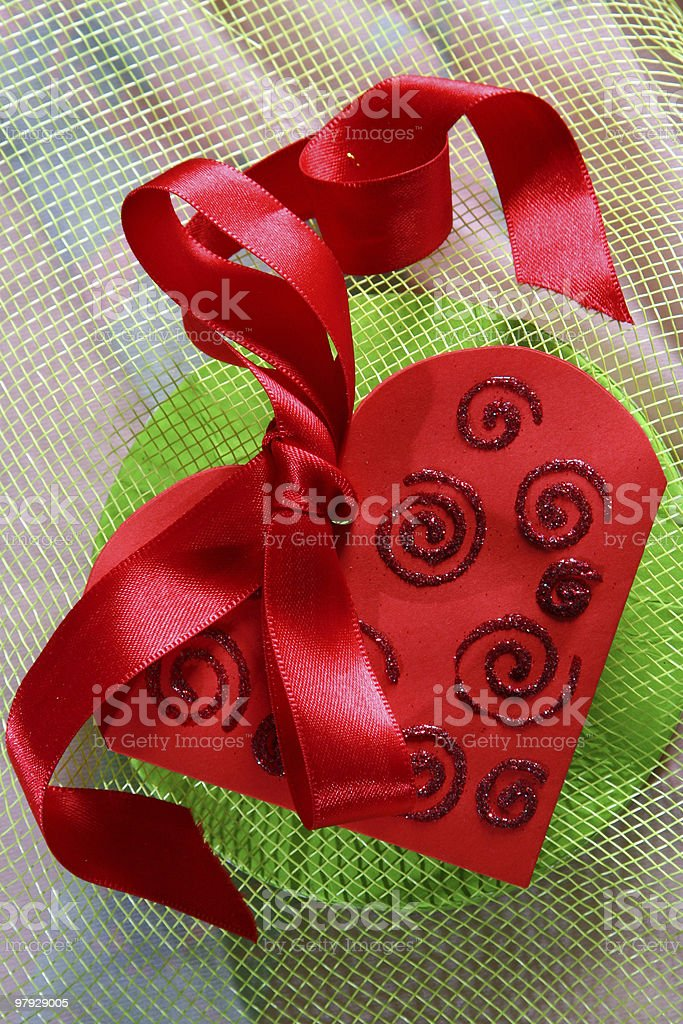 Valentine color royalty-free stock photo