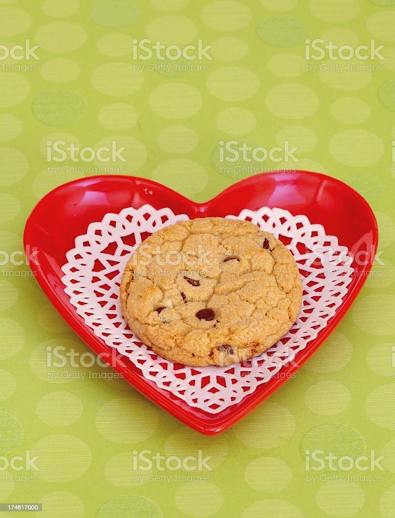 Valentine Cookie Love royalty-free stock photo