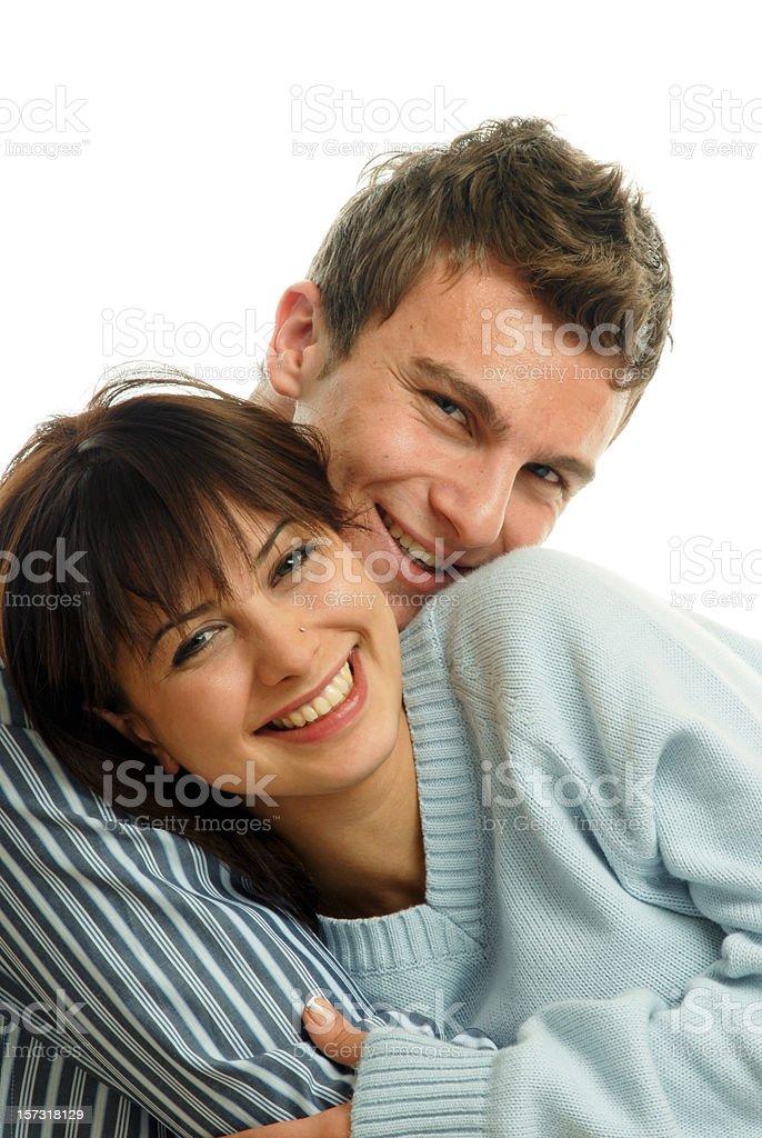 Valentine couple royalty-free stock photo