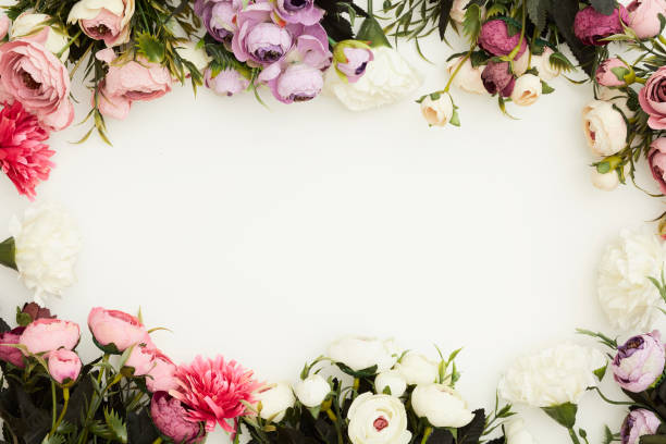 Valentine day background Valentine day background flowers stock pictures, royalty-free photos & images