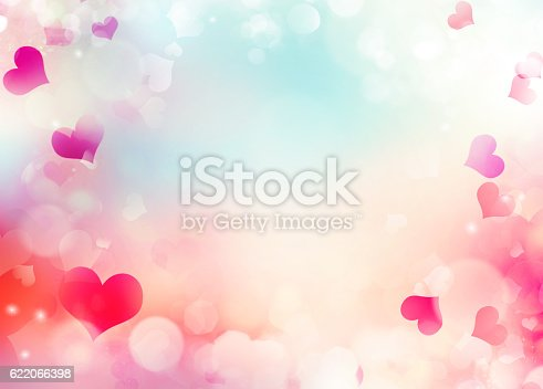 istock Valentine day holiday background illustration 622066398