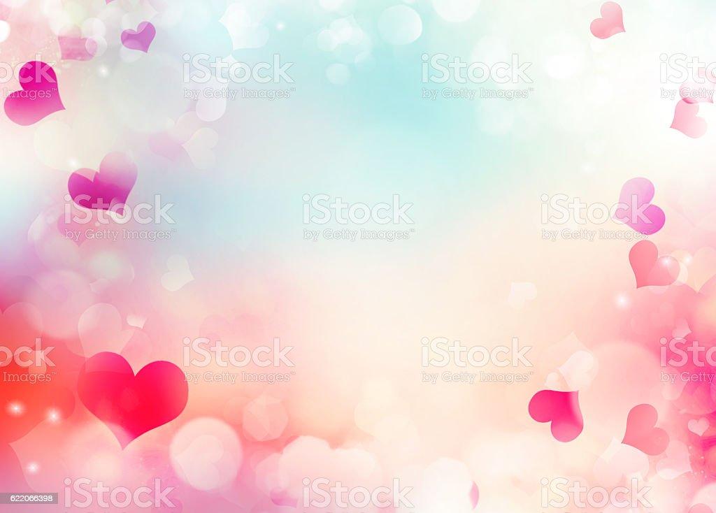 Valentine Day Holiday Background Illustration Stock Photo