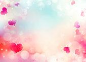 Valentine day holiday background illustration