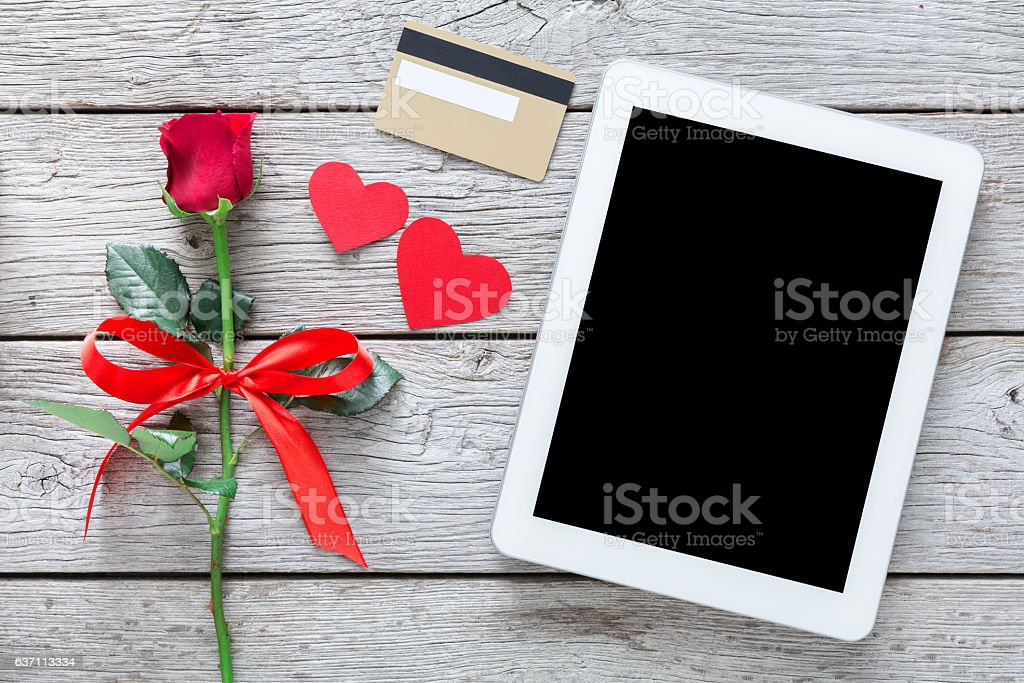 valentine day online shopping background stock photo 637113334, Ideas
