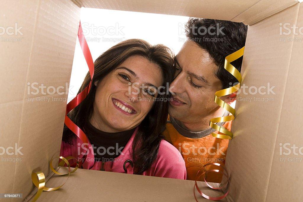 Valentine Day Present royalty-free stock photo