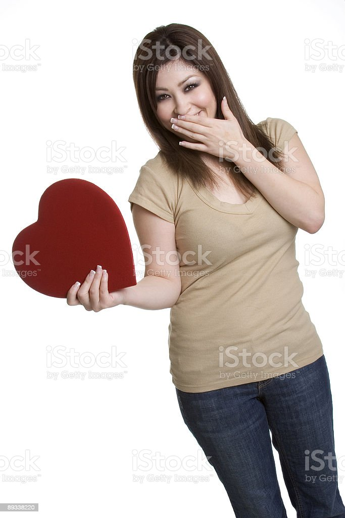 Valentine Day Woman royalty-free stock photo