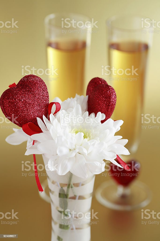 Valentine detail royalty-free stock photo