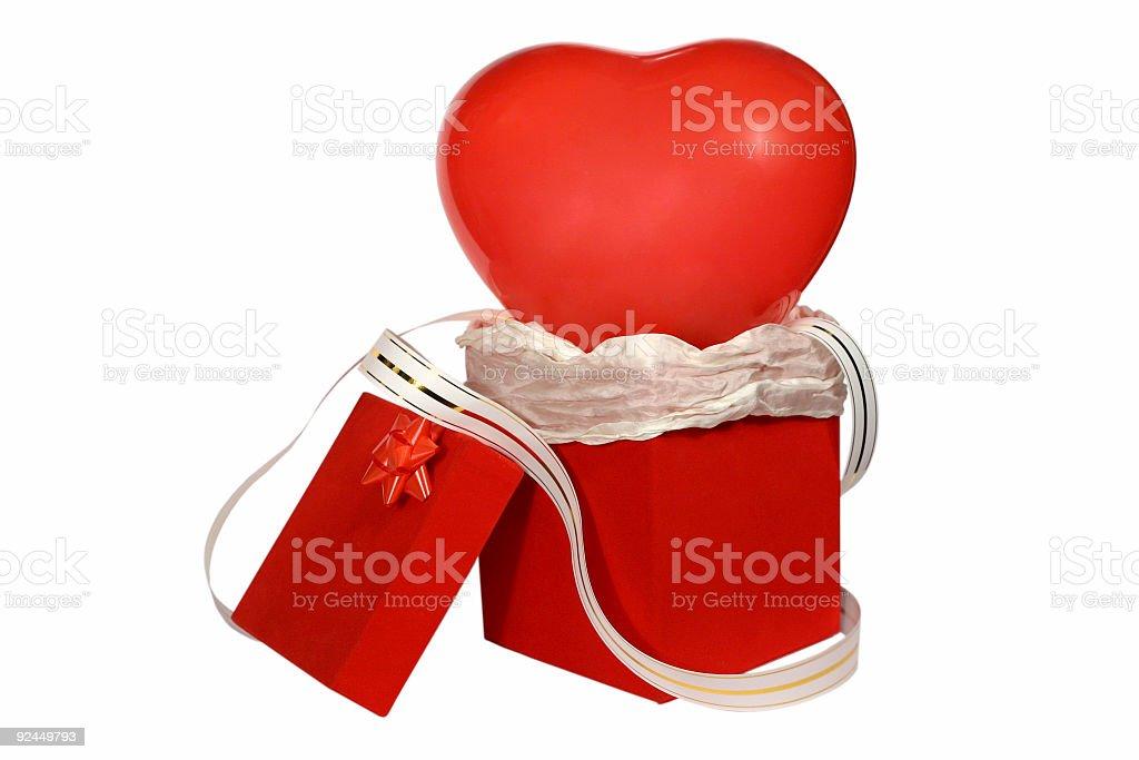 Valentine Gift 2 royalty-free stock photo