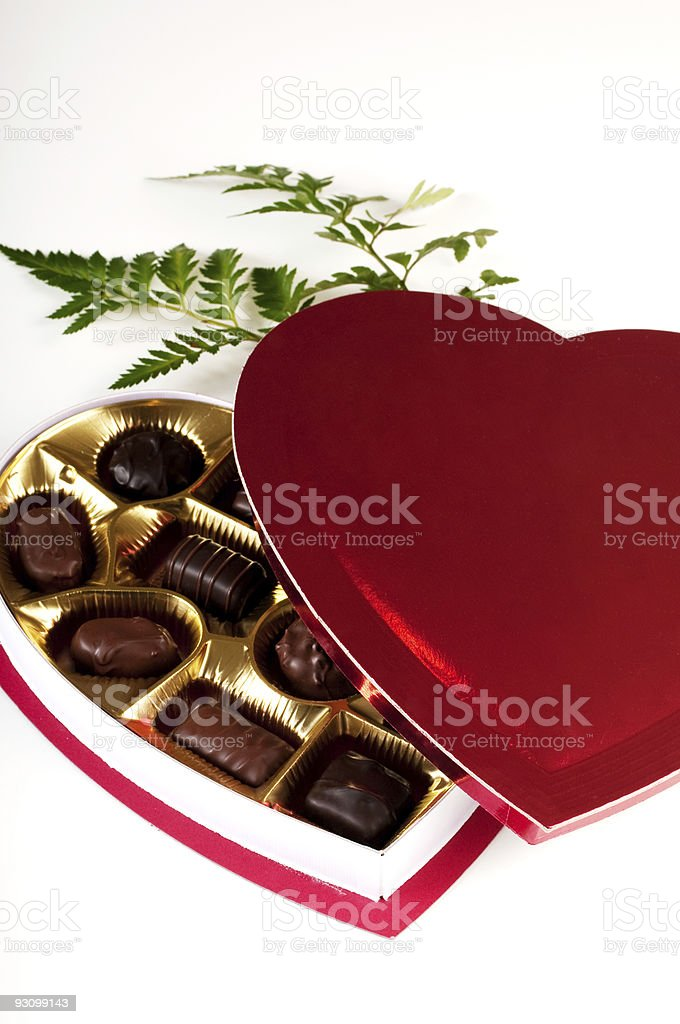 Valentine gift for a lover royalty-free stock photo