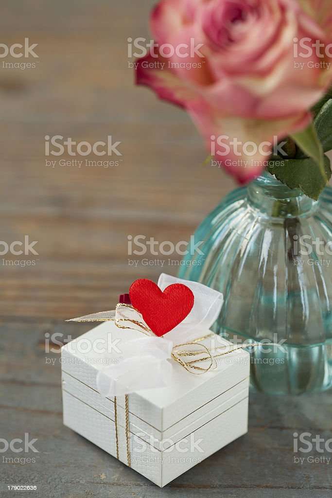 Valentine gift royalty-free stock photo