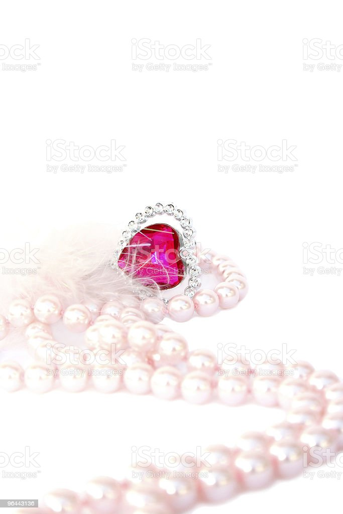 Valentine heart - Royalty-free Cirkel Stockfoto