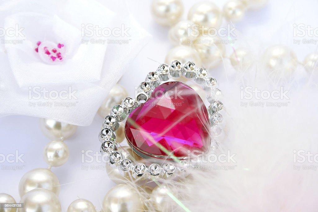 Valentine heart - Royalty-free Cirkel Stockfoto