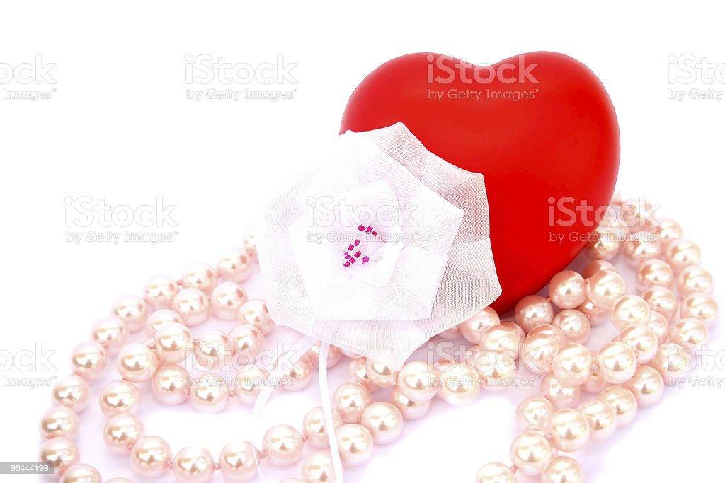 Valentine heart - Royalty-free Bead Stock Photo
